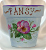 "Pansy in Bloom- 4""pot"
