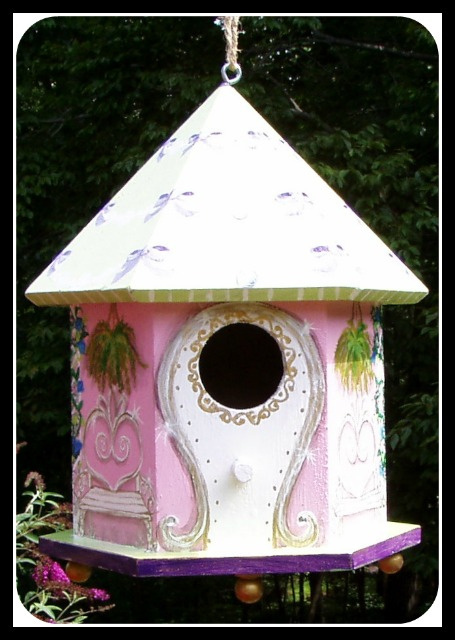 Fairy Princess Birdhouse