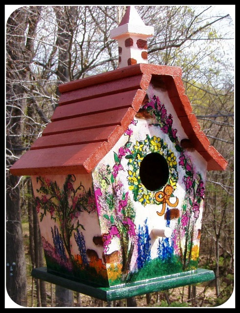 Schoolhouse Cottage- Birdhouse