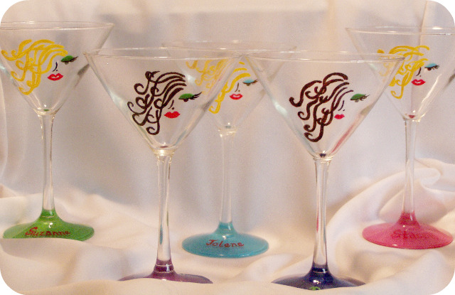 Bachlorette Party Glasses- Personalized