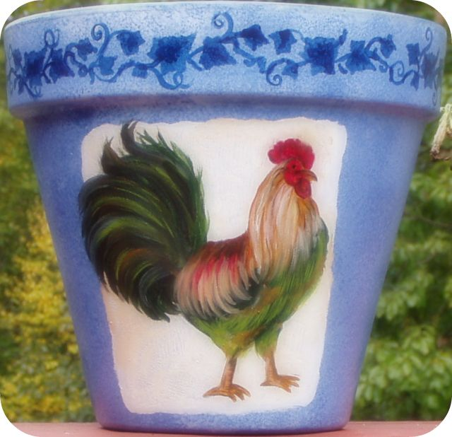 Glorious Rooster Fantasy 8""