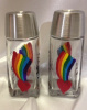 Rainbow Love- Set of salt & pepper shakers