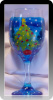 Christmas Tree Fantasy- 20 oz. Wine Glass