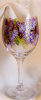 Wishful Wisteria- Wine Glass- 20 oz.