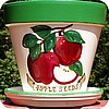 "Apple Seeds Fantasy-8""w/saucer"